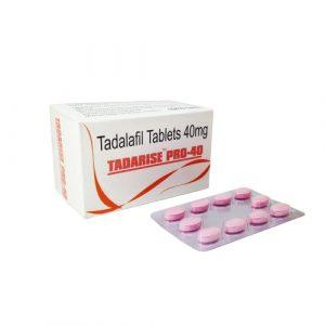buy Tadarise pro 40 online at Ed generic store