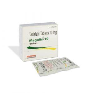 Buy Megalis 10 mg online | Ed Generic Store