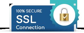 100% Secure SSL Connection
