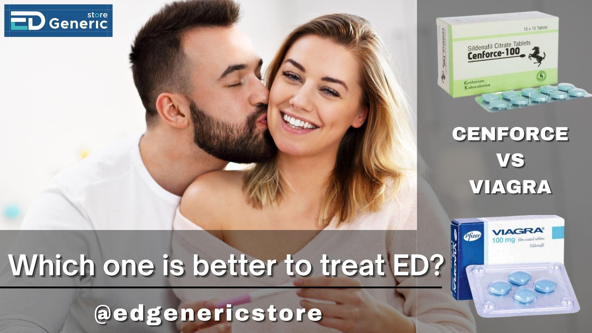 Cenforce vs Viagra - Ed generic store