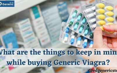 mind while buying Generic Viagra at Ed Generic store