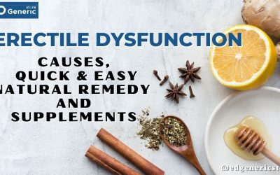Erectile Dysfunction: Causes, Quick & Easy Natural Remedy- EDGS