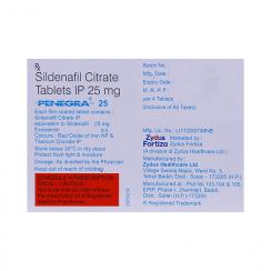 Penegra 25 mg